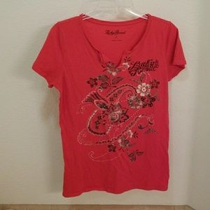 Lucky Brand short sleeve tee shirt Size Large.